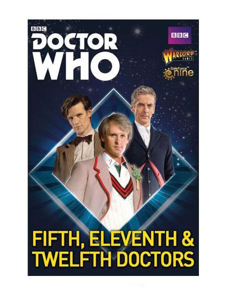 Doctor Who Exterminate! Expansion 5th, 11th and 12th Doctors *English Version*