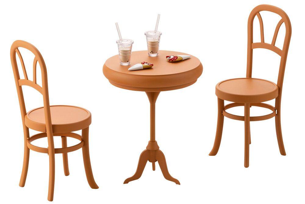 Sousai Shojo Teien Model Kit Accesoory Set 1/10 After School Cafe Table 8 cm
