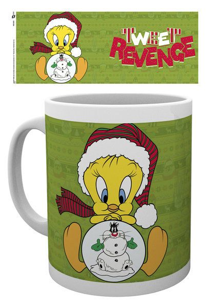 Looney Tunes Mug Tweety Christmas