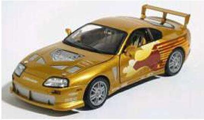 Fast & Furious Diecast Model 1/32 1995 Toyota Supra Slap Jack