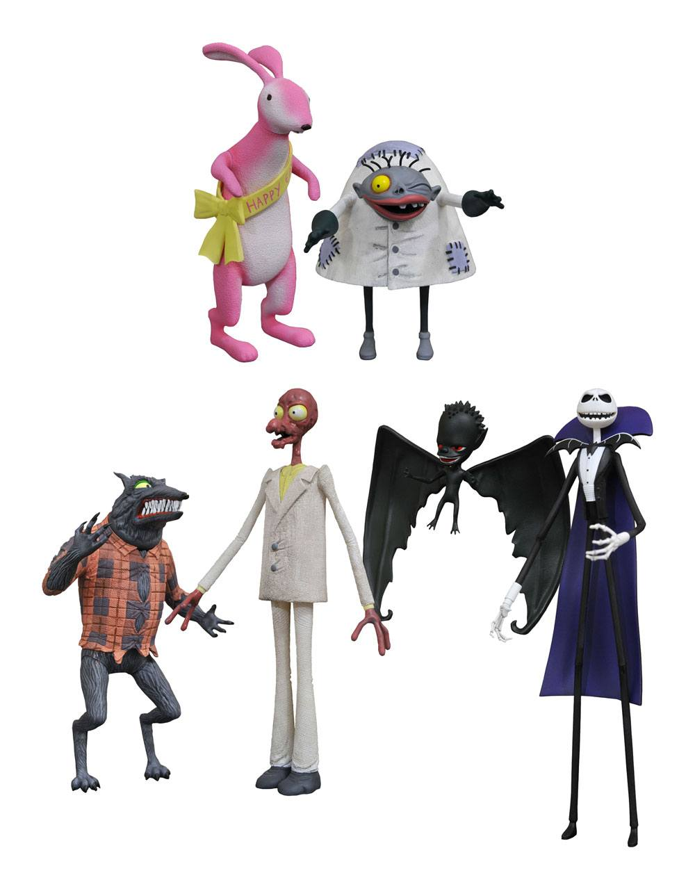 Nightmare before Christmas Select Action Figures 18 cm Series 5 Assortment (6)