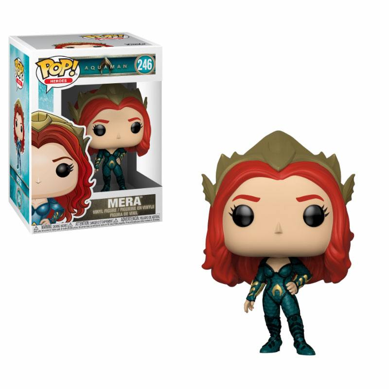 Aquaman Movie POP! Movies Vinyl Figure Mera 9 cm