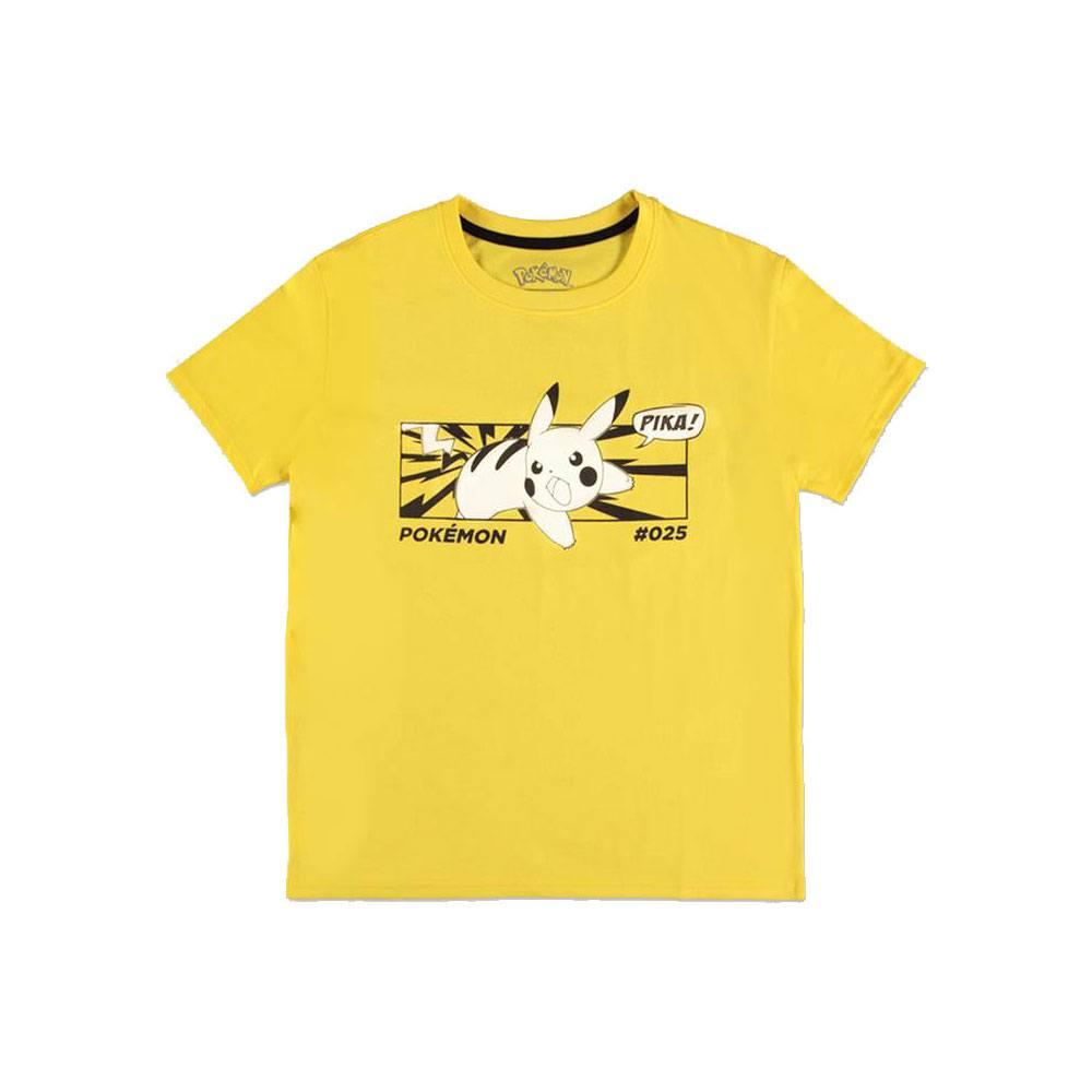 Pokémon Ladies T-Shirt Pika Size L