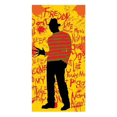 A Nightmare on Elm Street Towel Freddy 150 x 75 cm
