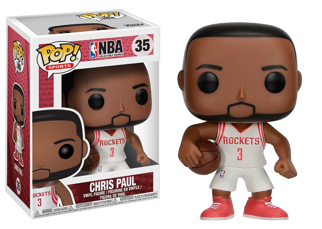 NBA POP! Sports Vinyl Figure Chris Paul (Houston Rockets) 9 cm