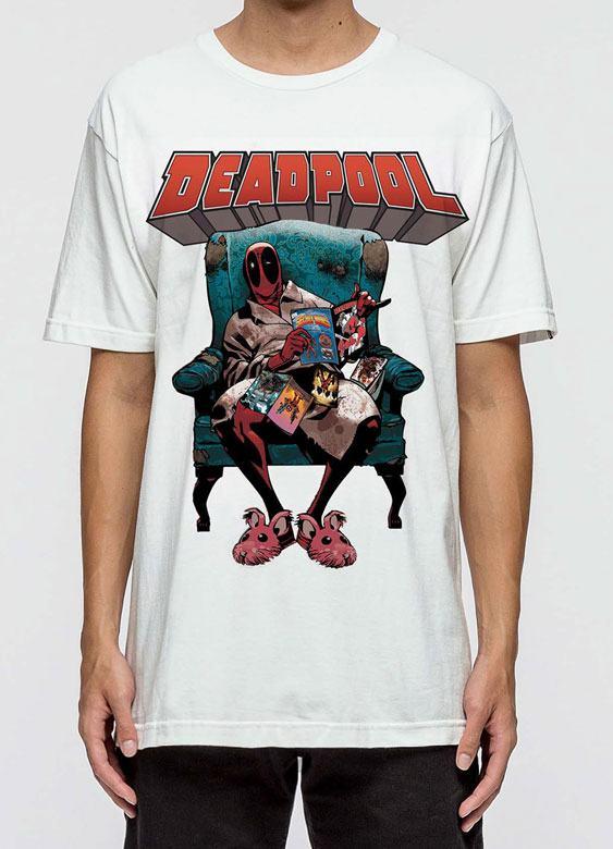 Deadpool T-Shirt Armchair Size L