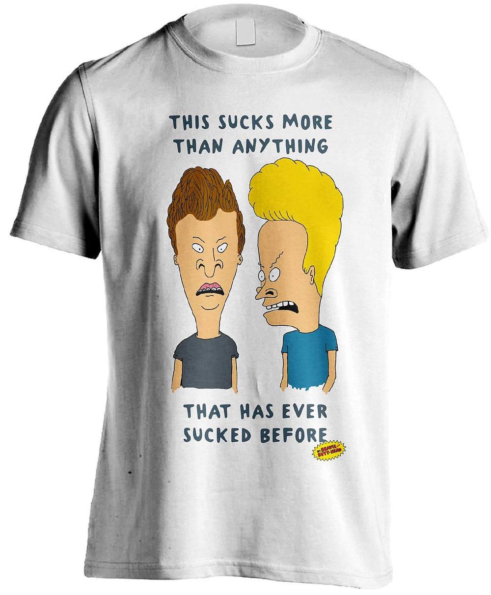 Beavis & Butt-Head T-Shirt This Sucks Size XXL
