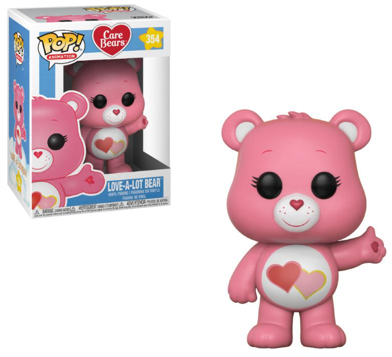 Care Bears POP! Animation Vinyl Figure Love-A-Lot Bear 9 cm