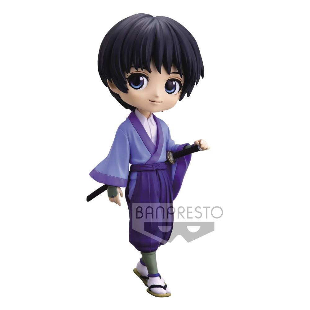 Rurouni Kenshin Q Posket Mini Figure Sojiro Seta Ver. A 14 cm