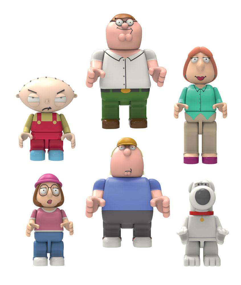 Family Guy Buildable K'NEX Figures 5 cm Wave 1 Display (48)