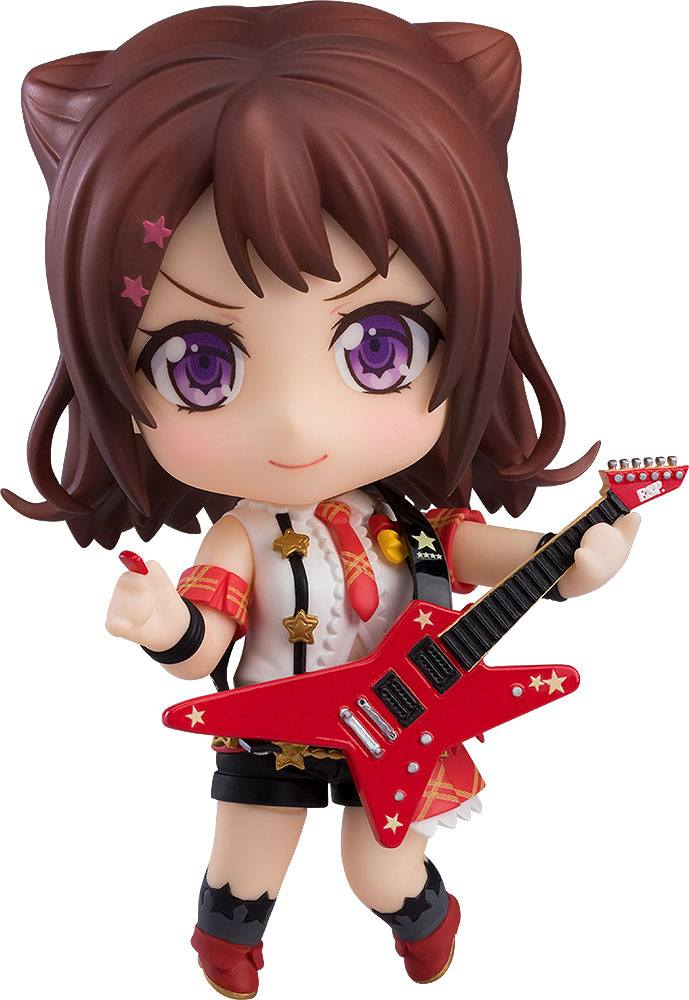 BanG Dream! Girls Band Party! Nendoroid Action Figure Kasumi Toyama Stage Outfit Ver. 10 cm