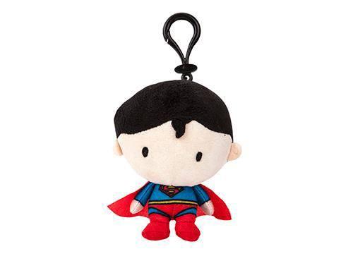 DC Comics Plush Hanger Superman Chibi Style 10 cm
