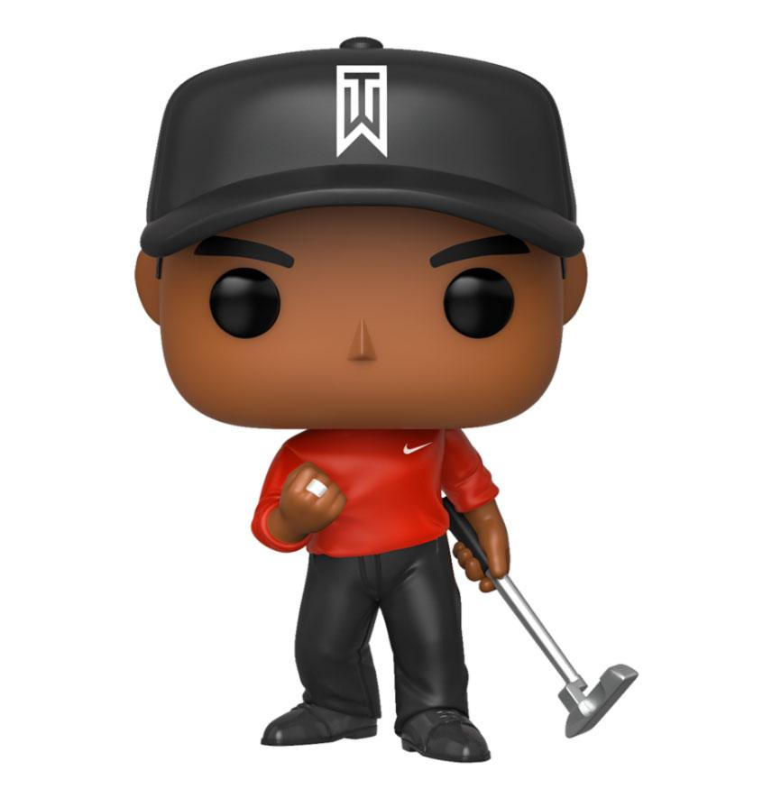 Tiger Woods POP! Golf Vinyl Figure Tiger Woods (Red Shirt) 9 cm