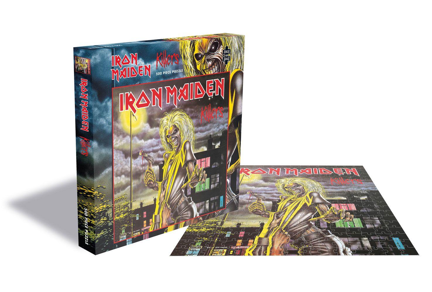 Iron Maiden Puzzle Killers