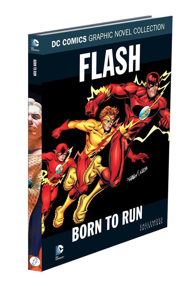 DC Comics Graphic Novel Collection Flash: Born To Run Case (12) *German Version*