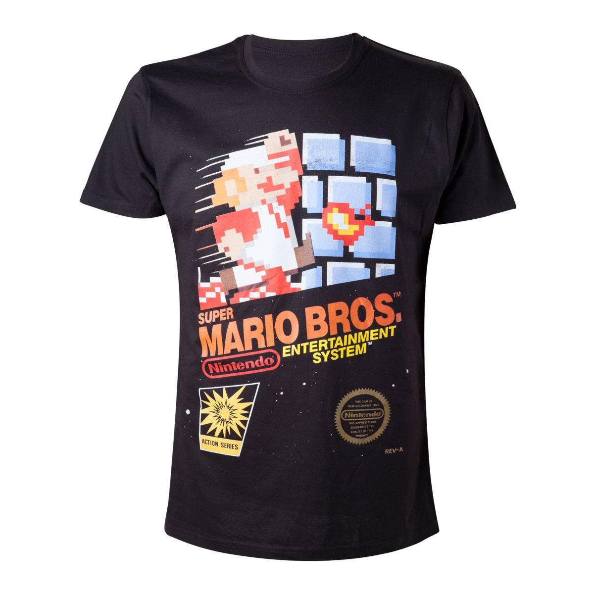 Super Mario Bros. T-Shirt Entertainment System Size L