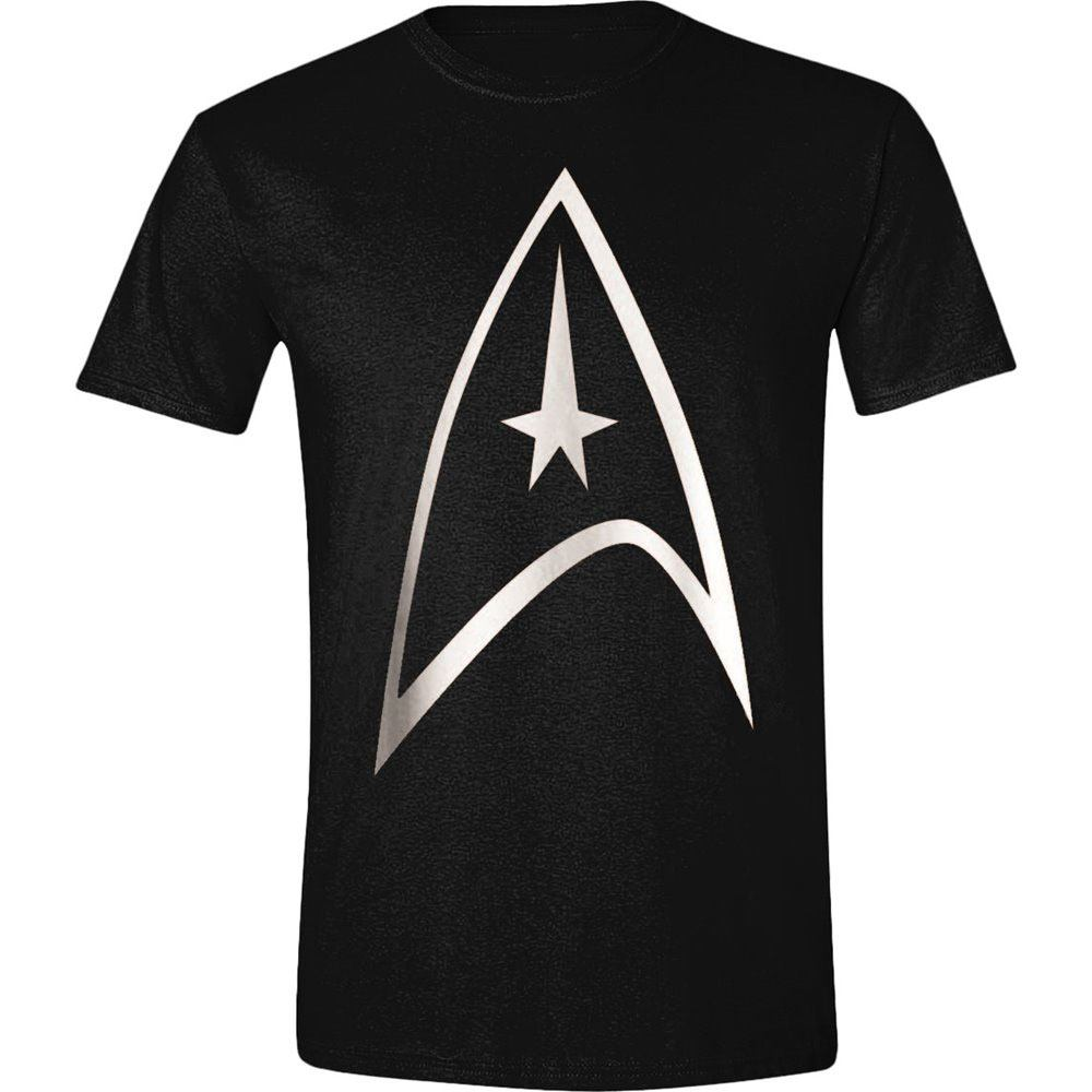 Star Trek  T-Shirt Command Logo  Size S