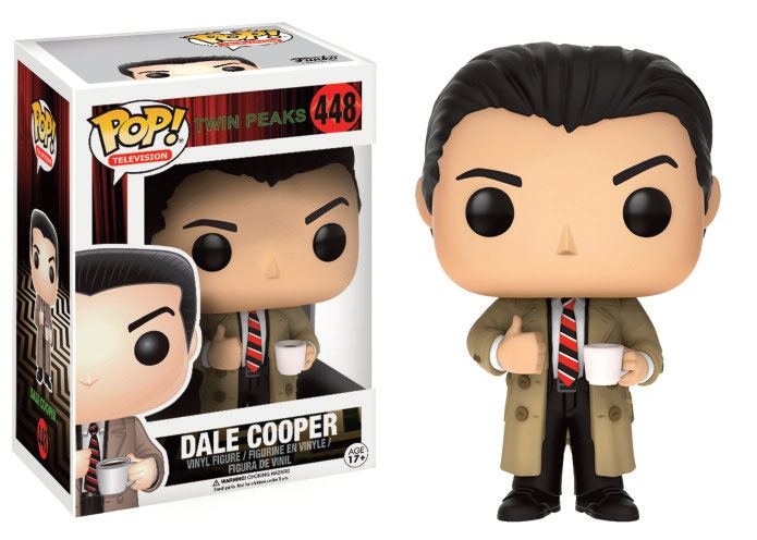 Twin Peaks POP! Television Vinyl Figure Dale Cooper 9 cm
