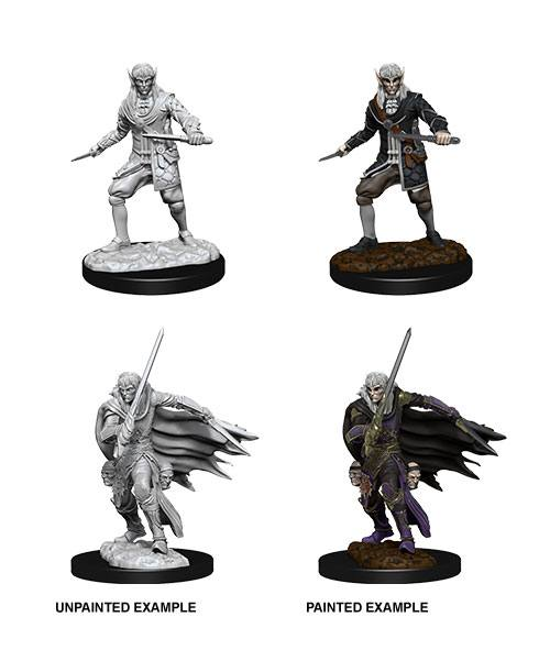 Pathfinder Battles Deep Cuts Unpainted Miniatures Male Elf Rogue Case (6)