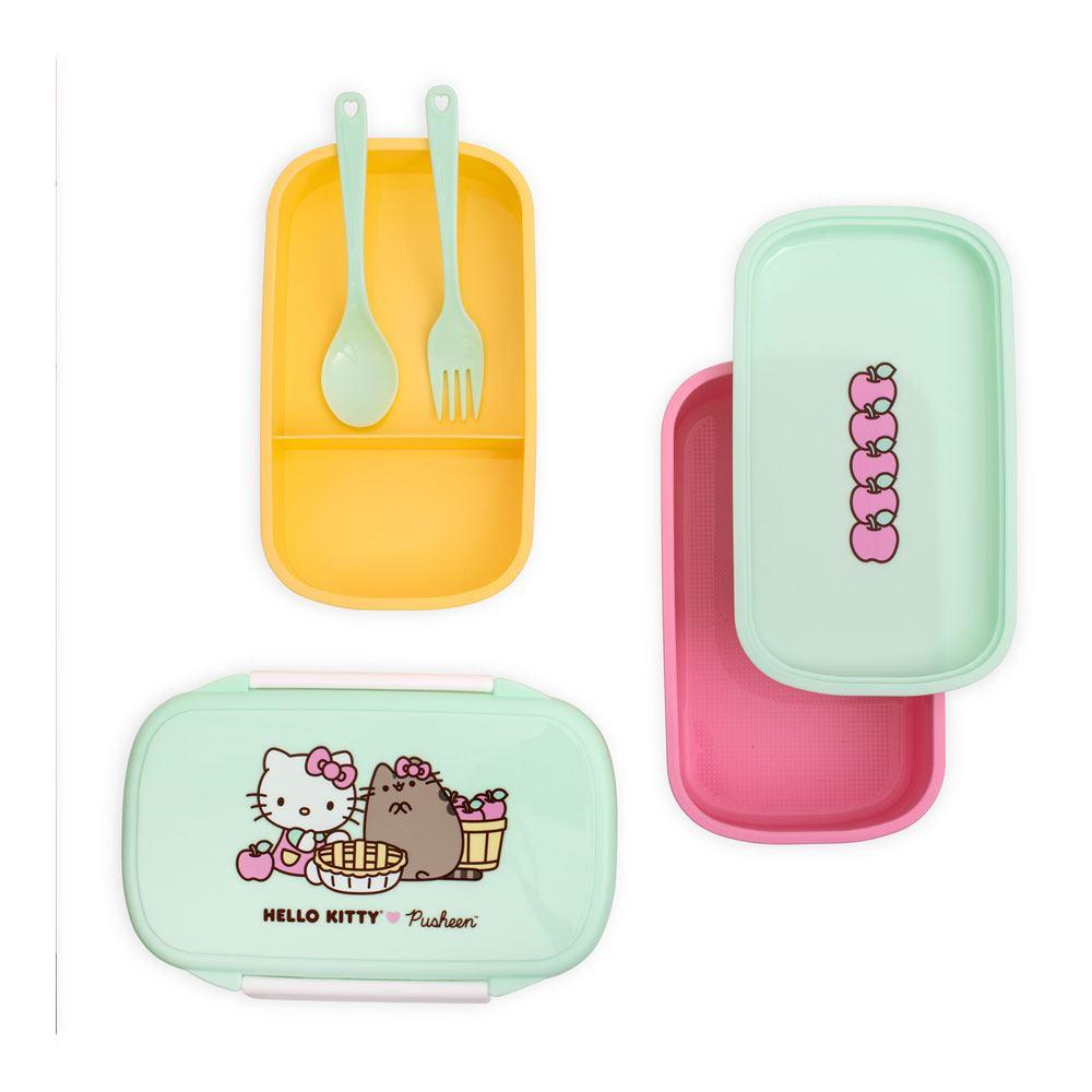Pusheen Bento Snack Box Set Hello Kitty
