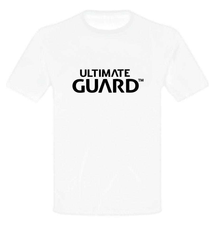 Ultimate Guard T-Shirt Wordmark White  Size XXXL