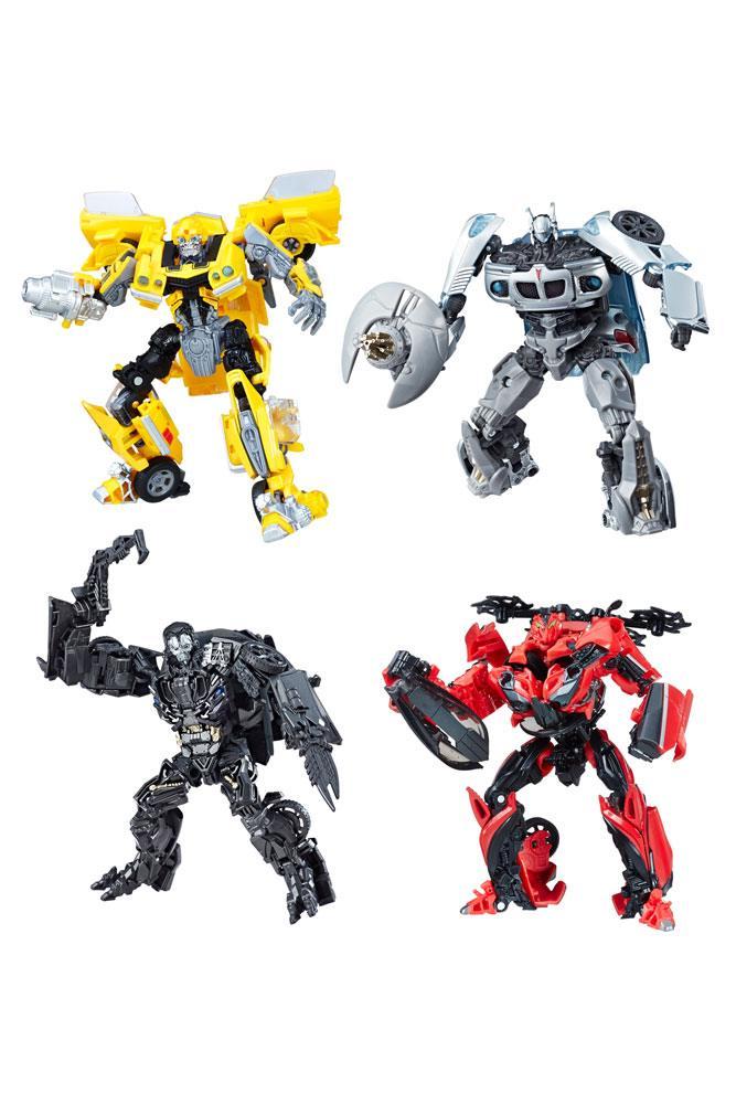 Transformers Studio Series Deluxe Class Action Figures 2018 Wave 2 Assortment (8)