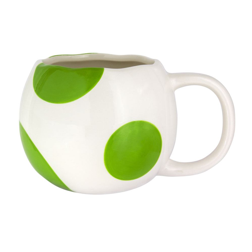 Super Mario 3D Mug Shaped Yoshi Egg