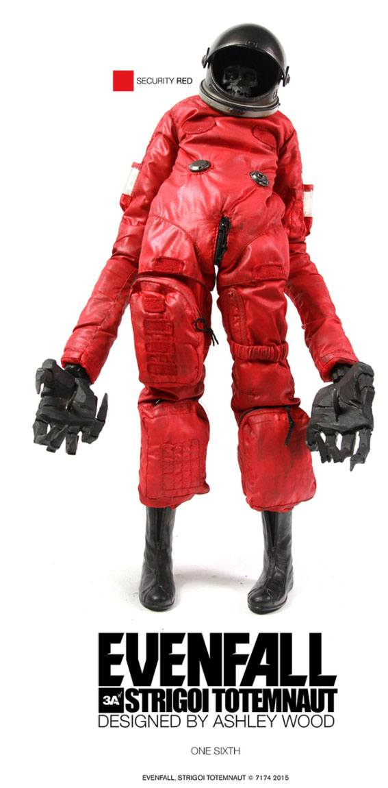 Evenfall Strigoi Totemnaut Action Figure 1/6 Security Red 30 cm