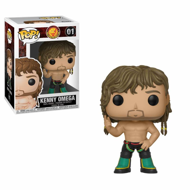 New Japan Pro-Wrestling POP! Wrestling Vinyl Figure Kenny Omega (Bullet Club) 9 cm