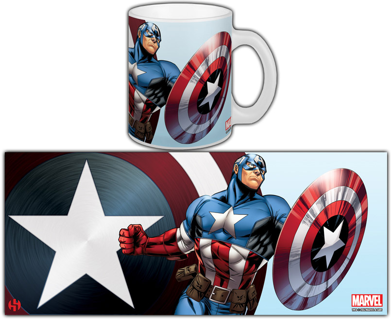 The Avengers Mug Captain America