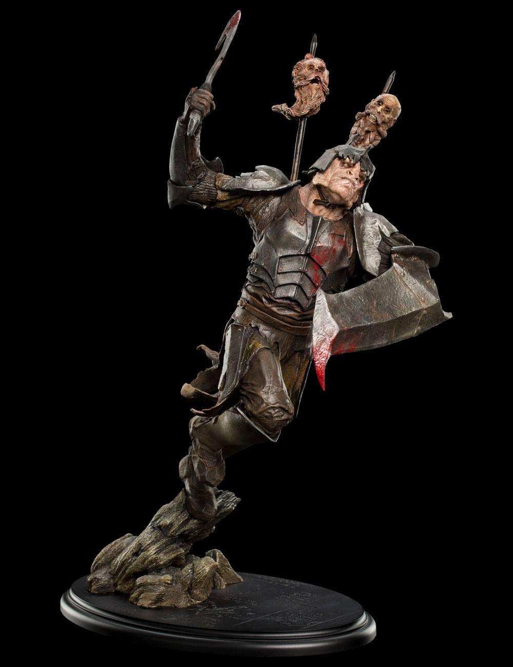 Hobbit The Battle of the Five Armies Statue 1/6 Dol Guldur Orc Soldier 48 cm