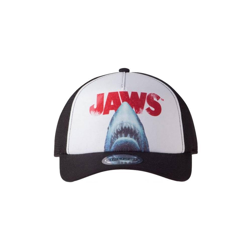 Jaws Curved Bill Cap Rising Shark