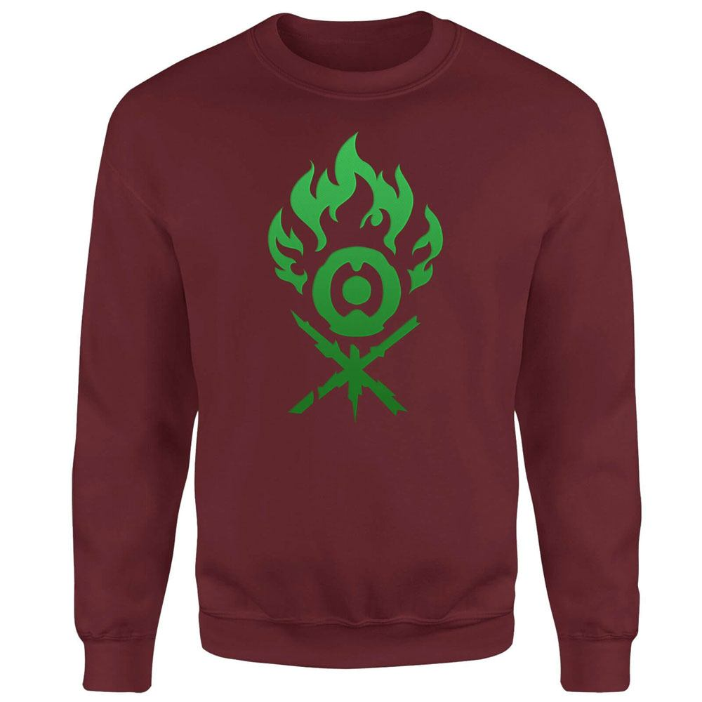 Magic the Gathering Sweatshirt Gruul Symbol Size XL