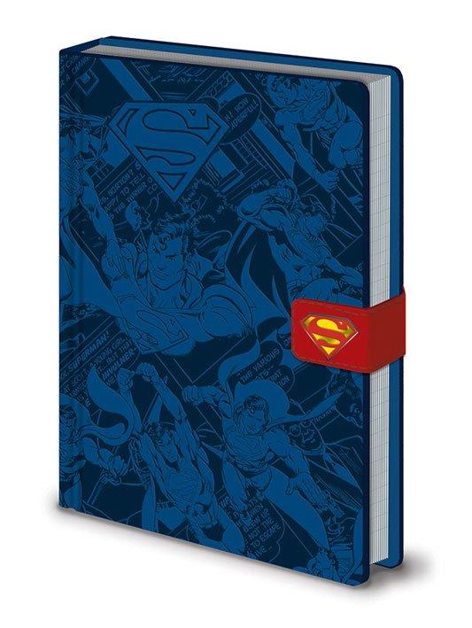 DC Comics Premium Notebook A5 Superman Montage