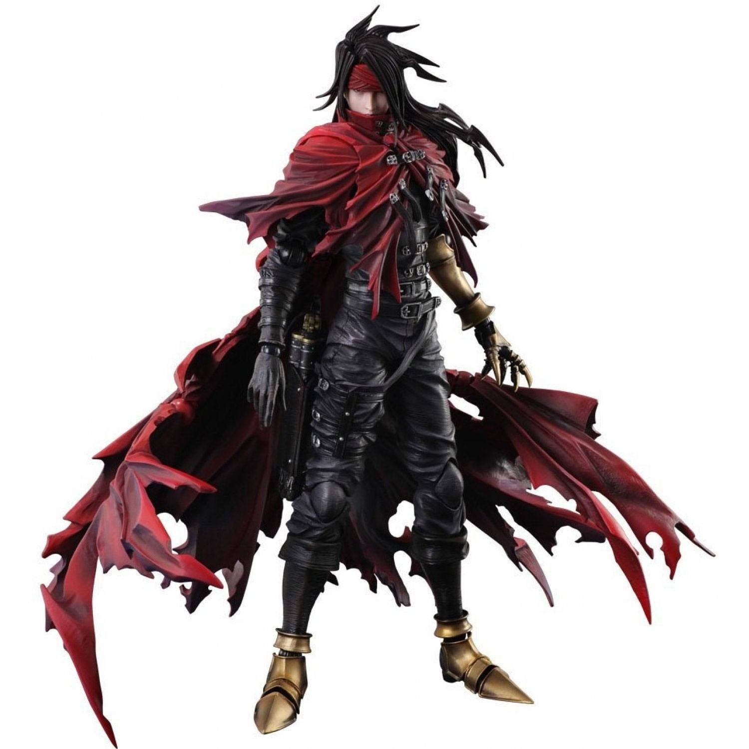 Dirge of Cerberus Final Fantasy VII Play Arts Kai Action Figure Vincent Valentine 27 cm