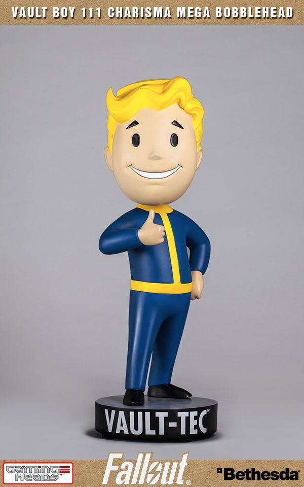 Fallout 4 Mega Bobble-Head Vault Boy 111 Charisma 38 cm