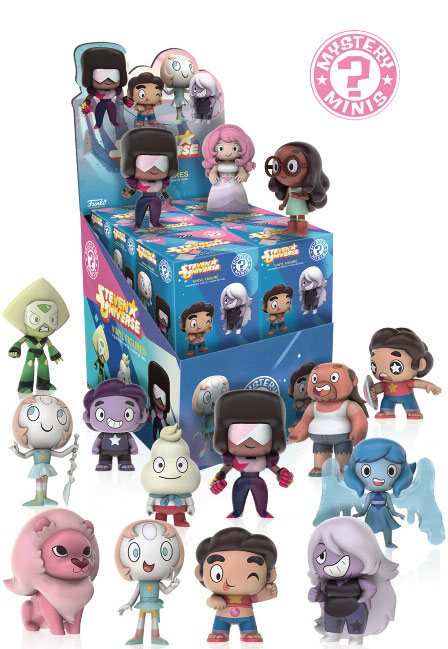 Steven Universe Mystery Mini Figures 5 cm Display (12)