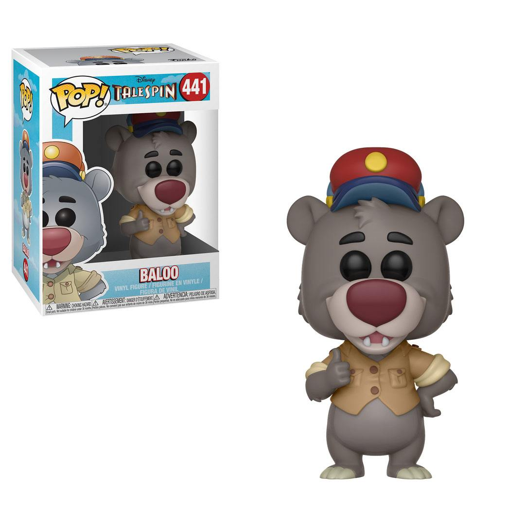 TaleSpin POP! Disney Vinyl Figure Baloo 9 cm