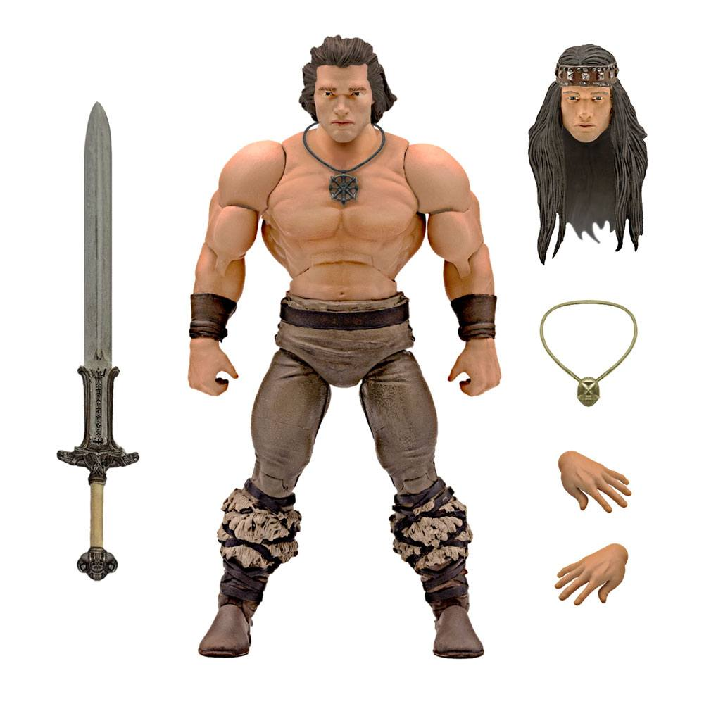 Conan the Barbarian Ultimates Action Figure Conan Iconic Movie Pose 18 cm