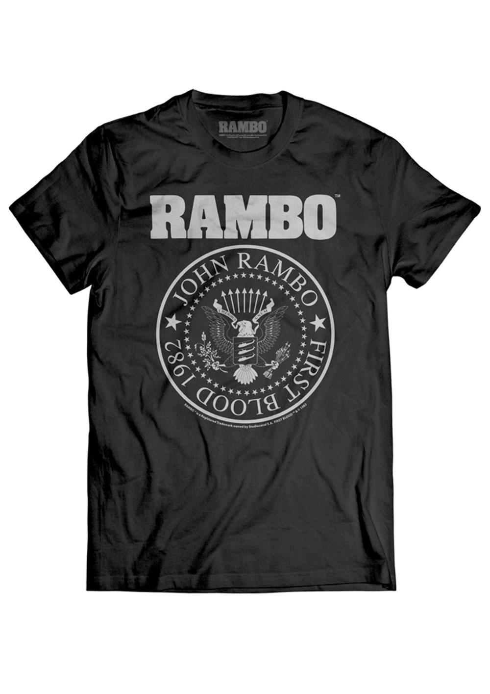 Rambo T-Shirt Seal Size M