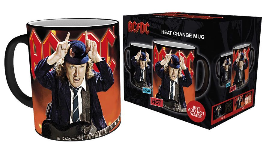 AC/DC Heat Change Mug Live