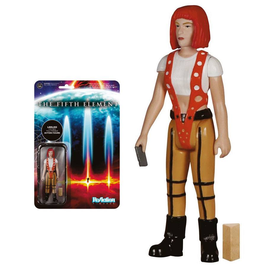 Fifth Element ReAction Action Figure Leeloo 10 cm