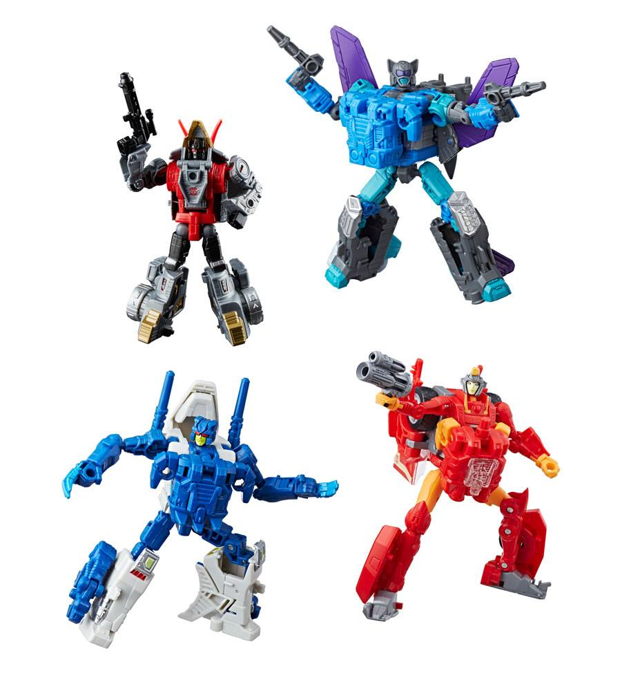 Transformers Generations Power of the Primes Action Figures Deluxe Class 2018 Wave 4 Assortment (8)