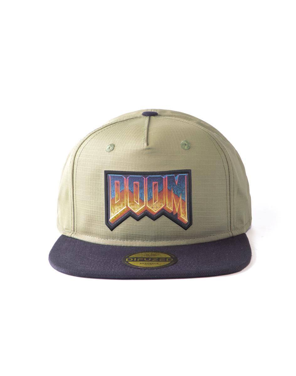 Doom Snapback Cap Eternal - Retro Logo