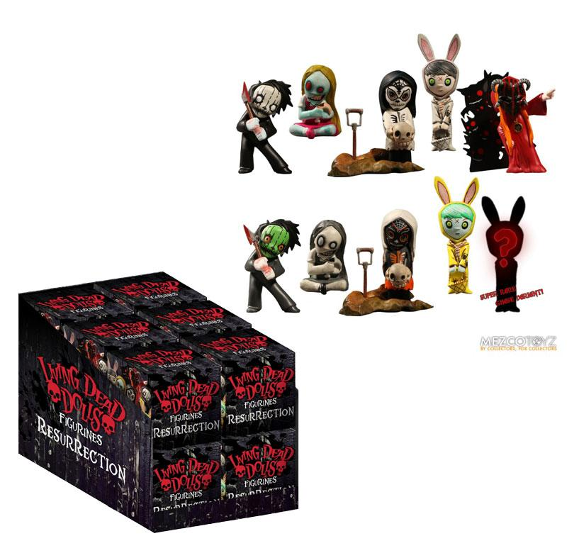 Living Dead Dolls Collectible Figures Resurection Series 1 Display 5 cm (25)