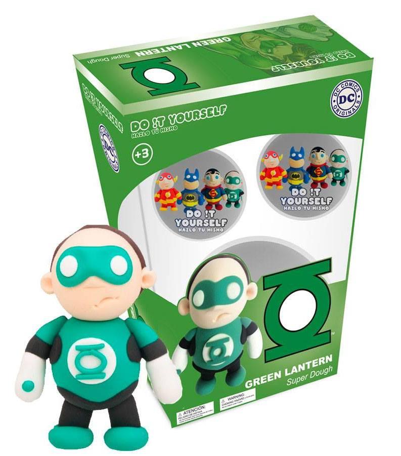 DC Comics D!Y Super Dough Modelling Clay Green Lantern