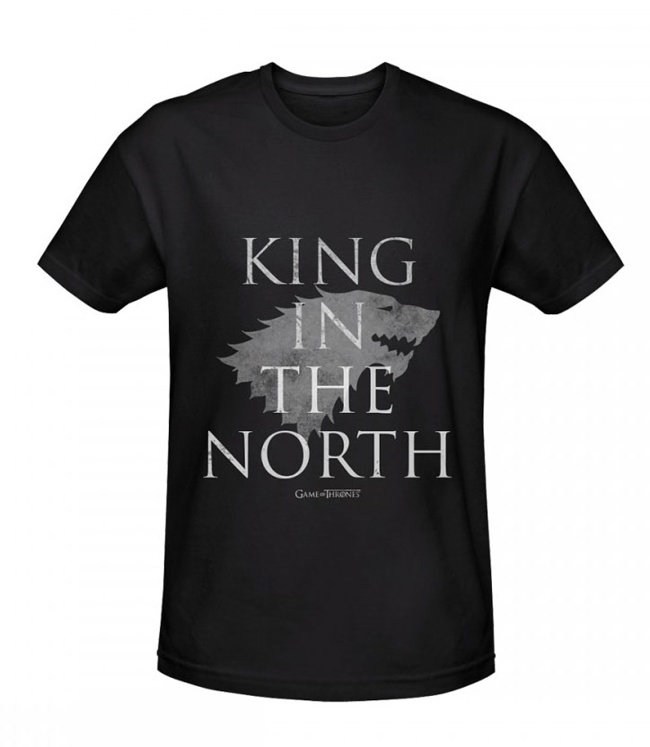 Game of Thrones T-Shirt King In The North Size M