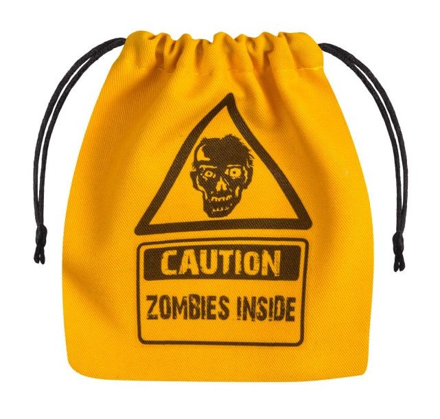 Zombie Dice Bag yellow & black