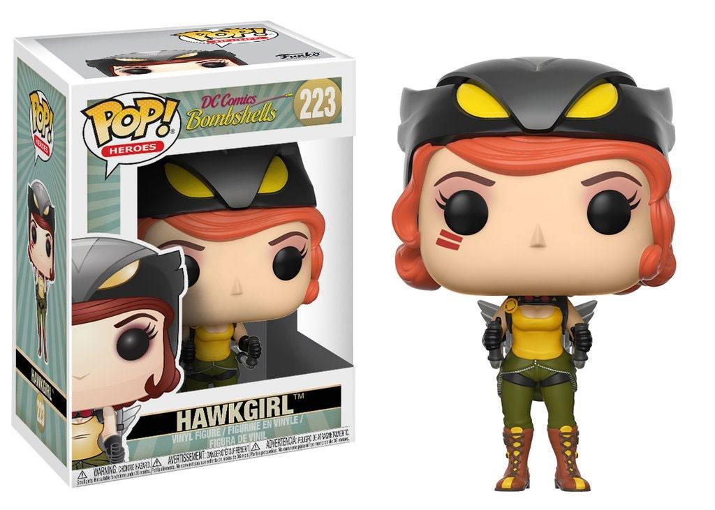 DC Comics Bombshells POP! Heroes Vinyl Figure Hawkgirl 9 cm
