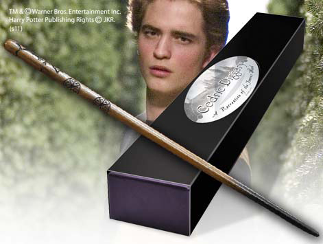 Harry Potter Wand Cedric Diggory (Character-Edition) --- DAMAGED PACKAGING